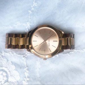 Michael Kors Large Face Rose Gold Watch